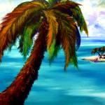 Palm Island by Kris Courtney