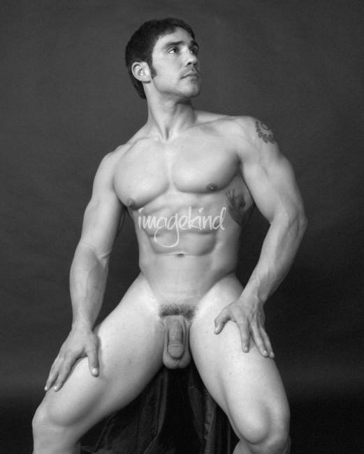 Artistic Male Nude - Tony