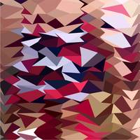 Alabaster Abstract Low Polygon Background