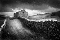 Field Barn in the Yorkshire Dales, England