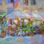 """FREE WHEELIN IN ITALY"" by Dreama"