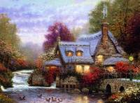 Fantasy Country Cottage Home By The River