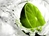 Splash Of Green Lime