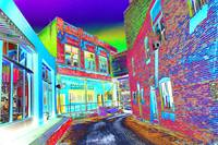 Subway Street - Bisbee, Arizona Psychedelic