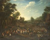 PIETER BOUT, A FLEMISH COUNTRY FAIR