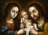 Nicolas Rodriguez Juarez - The Holy Family (La sag