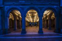Bethesda Terrace Lower Passage at Night