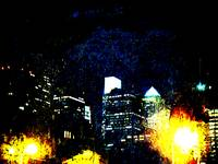 Abstract Philadelphia at Night