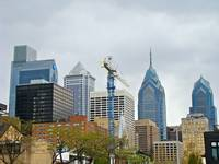 Philadelphia Skyline From Schuylkill River Walk