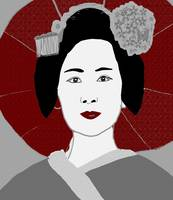 Geisha woman 7
