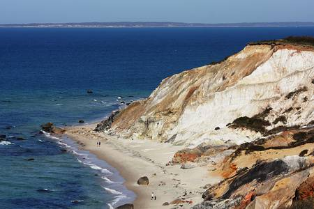 Gay Head Cliffs and Beach