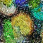 Abstract Eggs 2 by Deanne Flouton