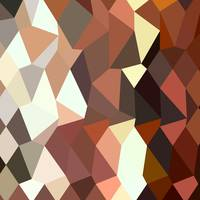 Burnt Sienna Abstract Low Polygon Background