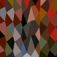 Burnt Umber Abstract Low Polygon Background