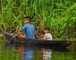 Kids in a Boat by Allen Sheffield