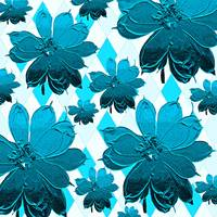 Magnolia Blue Abstract