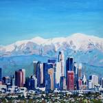 Los Angeles California - City Of Angels  by RD Riccoboni