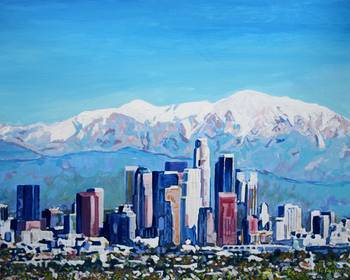 Los Angeles California City Of Angels By Rd Riccoboni