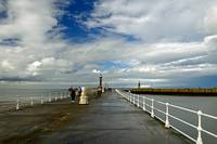 Along The West Pier, Whitby (40226-RDA)