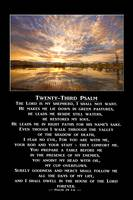 Twenty-Third Psalm Prayer