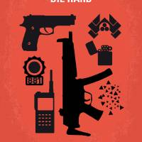 """No453 My Die Hard minimal movie poster"" by Chungkong"