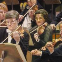 """Violin Section"" by DBCArtwork"