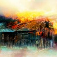 Old Barn by Lisa Rich