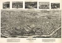 Vintage Pictorial Map of Asheville NC (1912)