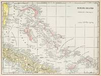 Vintage Map of The Bahamas (1901)