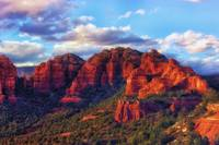 Cliffs of Sedona at Sunset
