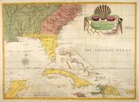 Vintage Map of The Caribbean (1754)
