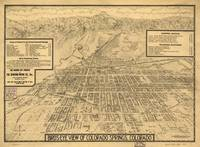 Vintage Map of Colorado Springs CO (1909)