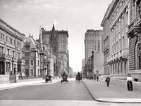Vintage Fifth Avenue NYC Photograph (1908)