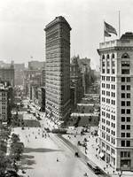 Vintage Photograph of The NYC Flat Iron Building 3