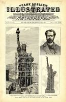 Statue of Liberty Construction Illustration