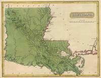 Vintage Map of Louisiana (1816)