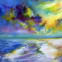 OCEAN & BEACH  by Marcia Baldwin