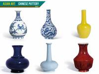 Asian Art, Chinese Pottery - Vases by Adam Asar
