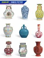 Asian Art, Chinese Pottery - Vases 2 by Adam Asar