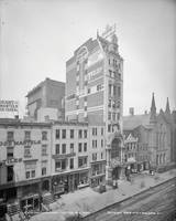 Old NYC New Amsterdam Theater Photograph (1905)