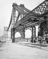 Vintage Photograph of the Williamsburg Bridge