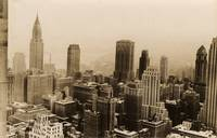 Vintage New York City Skyline Photograph (1935)