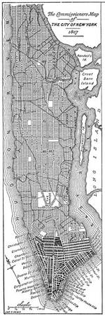 Vintage Map of New York City (1811)