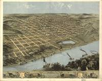 Vintage Pictorial Map of Omaha Nebraska (1868)