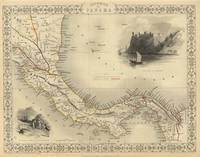 Vintage Map of Panama (1851)