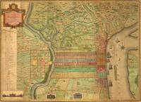 Vintage Map of Philadelphia Pennsylvania (1802)