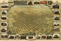 Vintage Pictorial Map of San Jose CA (1901)