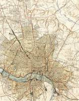 Vintage Map of Richmond Virginia (1934)