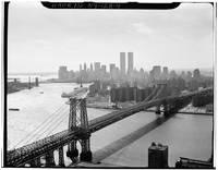 Photograph of NYC and The Williamsburg Bridge