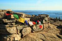 Prayer Flags on Mount Major